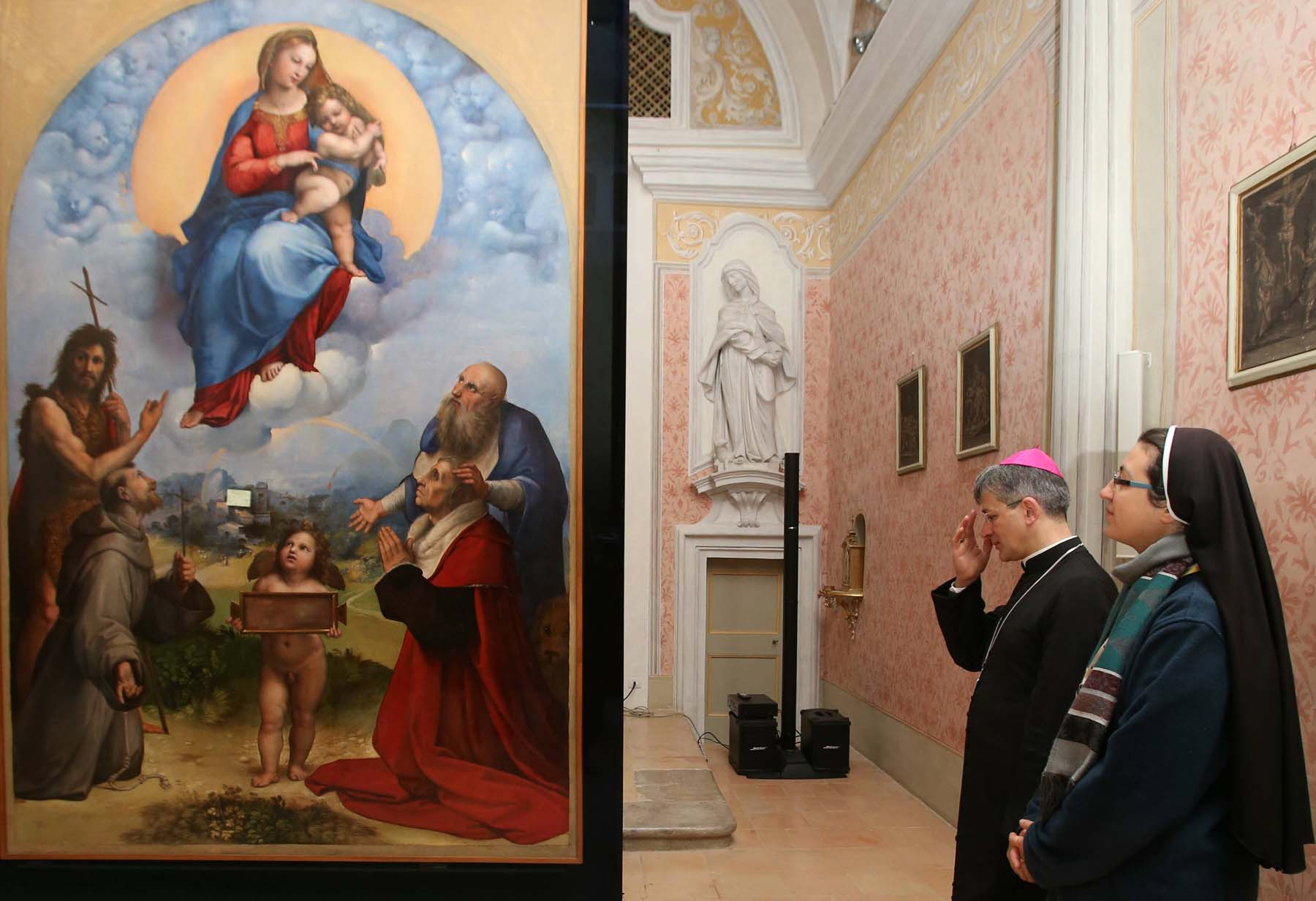 Raphael's The Madonna of Foligno Returns to Foligno